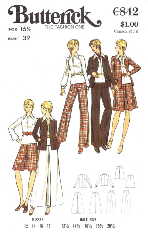 Vintage Sewing Patterns Out of Print Retro, Vogue, Simplicity