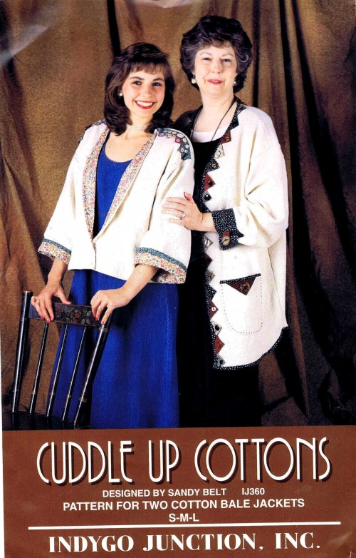 Misses Cotton Bale Jackets Indygo Junction IJ360 Sewing Pattern Size S - M - L - XL