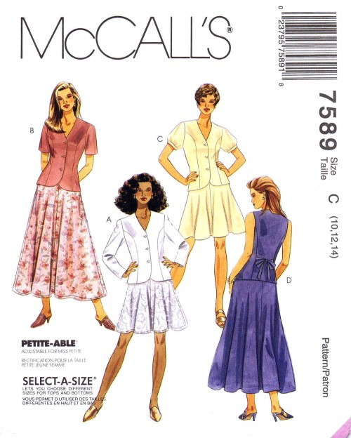 Vintage Sewing Patterns Out of Print Retro 498c77109