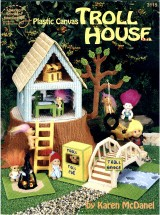 American School of Needlework Plastic Canvas Troll House