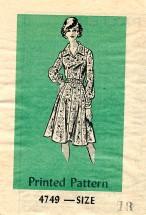 Anne Adams 4749 Shirtdress Size 18
