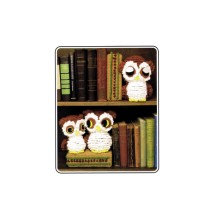 Annies Attic Owl Family Bookends Crochet Pattern