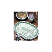 Annies Attic Pretty Table Place Mat Set Crochet Pattern