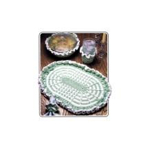 Annies Attic Pretty Table Place Mat Set Crochet Pattern