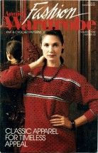 Annie's Fashion Wardrobe Knit & Crochet Patterns November / December 1989