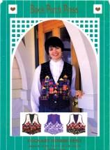 Misses Folkart House Vest Size 6 - 22 Back Porch Press Sewing Pattern