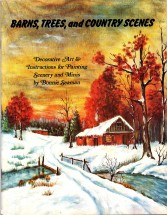 Barns Tree and Country Scenes Tole Painting Book
