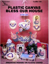 Bless Our House Plastic Canvas Leaflet