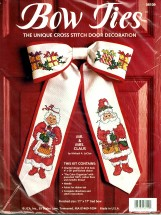 Mr. & Mrs. Claus Bow Tie Christmas Door Decoration Kit