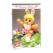 Bunny Baby Soft Sculpture Doll Crochet Patterns Annies Pattern Club