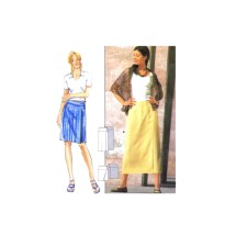Misses Close Fitting Skirt in Two Lengths Burda 3205 Sewing Pattern Size 8 - 10 - 12 - 14 - 16 - 18