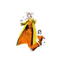 1950s Sheath Dress Clutch Coat Butterick 7649 Vintage Sewing Pattern Size 14 Bust 32