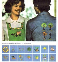 Embroidery Transfers 1970s Butterick 4686 Vintage Pattern