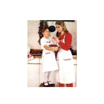Apron Pot Holder Oven Mitt Kitchen Accessories Butterick 6276 Vintage Sewing Pattern