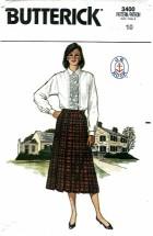 Butterick 3400 Blouse & Skirt Size 10 - Bust 32 1/2