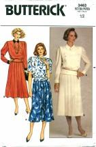 Butterick 3463 Top & Skirt Size 12