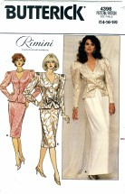 Butterick 4398 RIMINI Misses Top & Skirt Size 14 - 18 - Bust 36 - 40