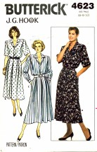 Butterick 4623 J. G. Hook Top and Skirt Size 6 - 10 - Bust 30 1/2 - 32 1/2