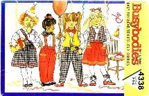 Butterick 4338 Sewing Pattern Vest Blouse Skirt Pants Scarf Size 2 - 4