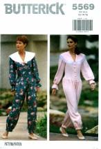 Butterick 5569 Jumpsuit Size 12 - 16 - Bust 34 - 38