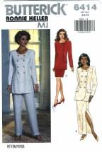 Butterick 6414 Top Skirt Pants Size 6 - 10 - Bust 30 1/2 - 32 1/2