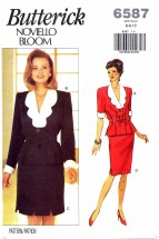 Butterick 6587 Noviello Bloom Top & Skirt Bust 30 1/2 - 32 1/2