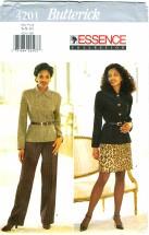 Butterick 4201 Jacket Skirt Pants Size 6 - 10