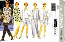 Butterick 4346 Jacket Top Skirt Shorts Pants Size 6 - 14 - Bust 30 1/2 - 36