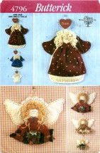 Butterick 4796 Decorative Angels
