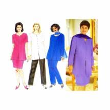 Womens Tunic Skirt Pants Scarf Butterick 4872 Sewing Pattern Size 14 - 16 - 18