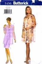 Butterick 5456 Sewing Pattern Misses Shirt & Dress Size 14 - 16 - 18