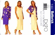 Butterick 5464 Misses Top & Dress Size 8 - 12 - Bust 31 1/2 - 34