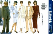 Butterick 5701 Dress Top Skirt Pants Size 8 - 12 - Bust 31 1/2 - 34