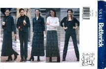 Butterick 5834 Top Skirt Pants Size 8 - 12 - Bust 31 1/2 - 34
