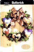 Butterick 5861 Shirley Stevenson Heart Felt Heritage