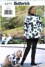 Butterick 6275 Misses & Dogs Sweatshirt Size 6 - 14 - Bust 30 1/2 - 36