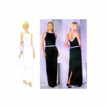 Princess Seam Top Skirt Stole Butterick 6399 Sewing Pattern Size 12 - 14 - 16