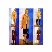 Misses Jacket Dress Belt Skirt Pants Butterick 3650 Sewing Pattern Size 8 - 10 - 12