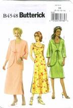 Butterick 4548 Misses Jacket & Dress Size 8 - 14