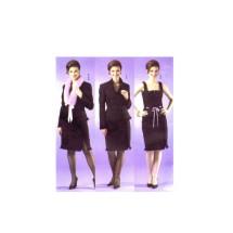 Chetta B Jacket Collar Top Skirt Butterick 4602 Sewing Pattern Size 6-8-10-12