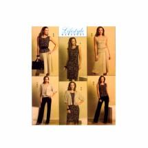 Misses Jacket Top Dress Skirt Pants Butterick 5190 Sewing Pattern Size 8 - 10 - 12 - 14