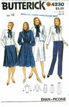 Butterick 4230 Jacket Blouse Skirt Culotte Pants Size 10 - Bust 32 1/2