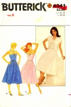 Butterick 4341 Sewing Pattern Halter Dress & Jacket Size 8