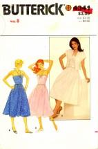 Butterick 4341 Sewing Pattern Halter Dress & Jacket Size 8