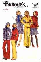 Butterick 4418 Jacket Skirt Pants Belt Size 14 - Bust 36