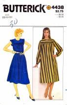 Butterick 4438 Misses Dress Size 12 - 16 - Bust 34 - 38