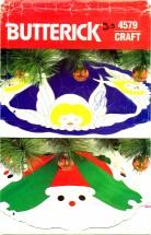 Butterick 4579 Christmas Tree Skirt