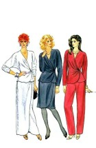 Butterick 4605 Womens Tunic Skirt Pants Size 10 Bust 32 1/2