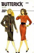 Butterick 6068 Sewing Pattern Jacket Dress Size 14 - 16 18