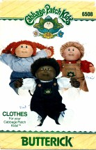 Butterick 6508 CABBAGE PATCH Kids Clothes